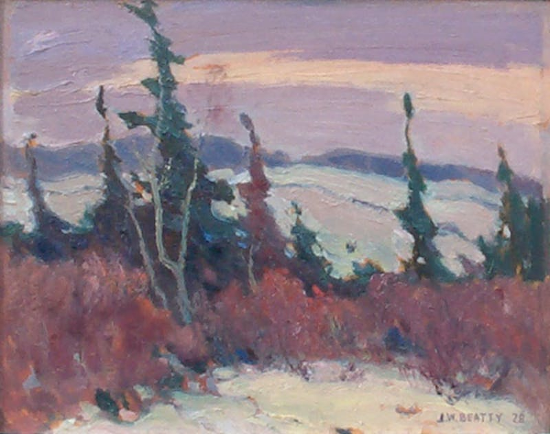 Untitled 1928 Oil Painting Image 1