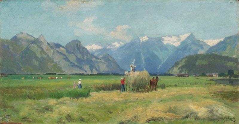 Haying Fraser Valley