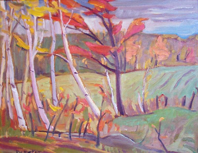 Autumn in Dunrobin