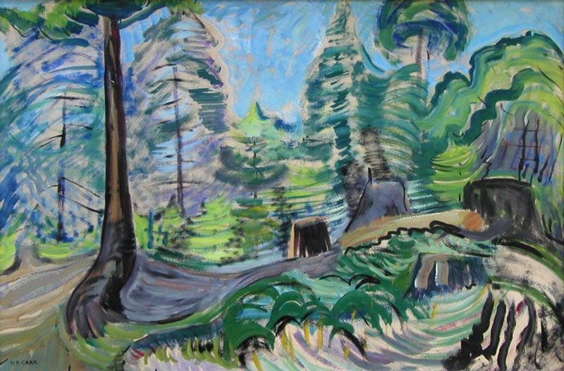 Untitled- Forest Scene Image 1