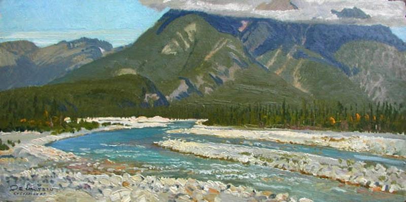 Lugtamon Mountain - Jasper