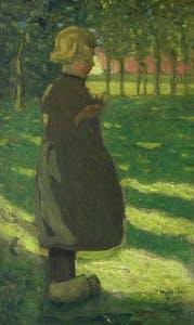 Jeune Fille Hollandaise