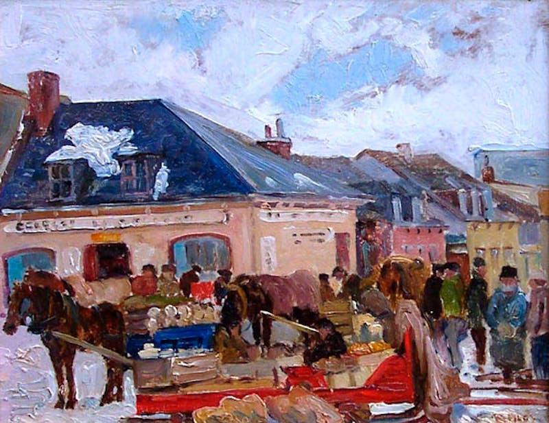 Bonsecour Market, Montreal