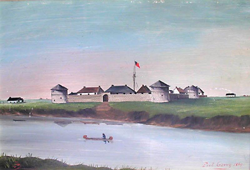 Fort Garry, 1869 Image 1