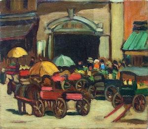 Ottawa Market Scene