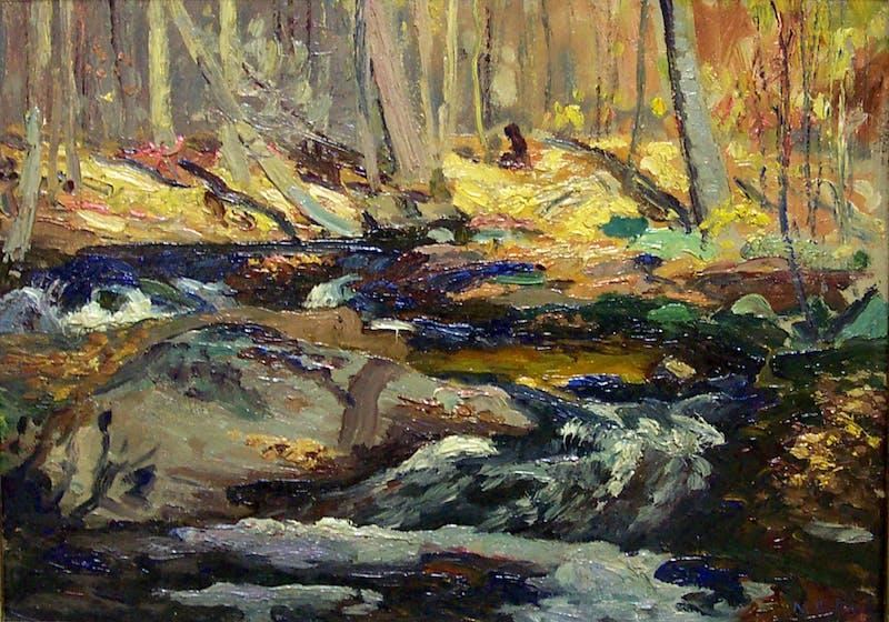 Autumn, Wildcat Creek Image 1