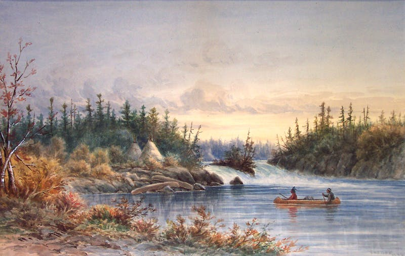 Indian Encampment, Kettle Falls