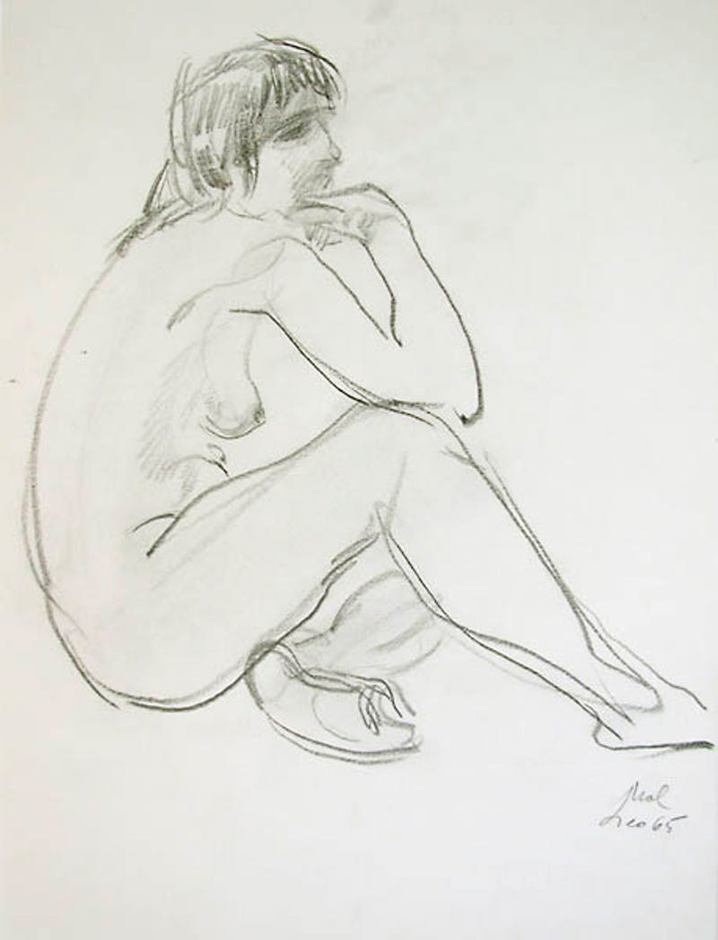 1965 Nude_Quiet Reflection Image 1