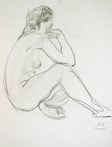 1965 Nude_Quiet Reflection