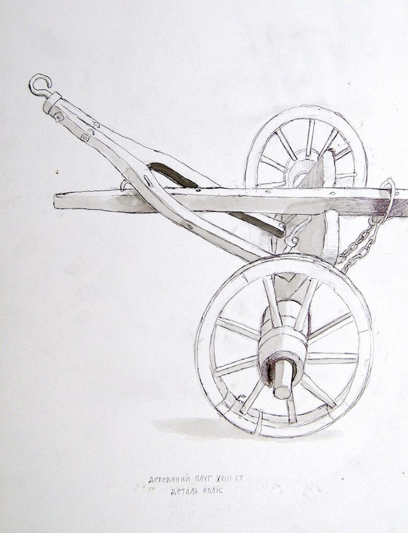 18th Century Wheel Carriage