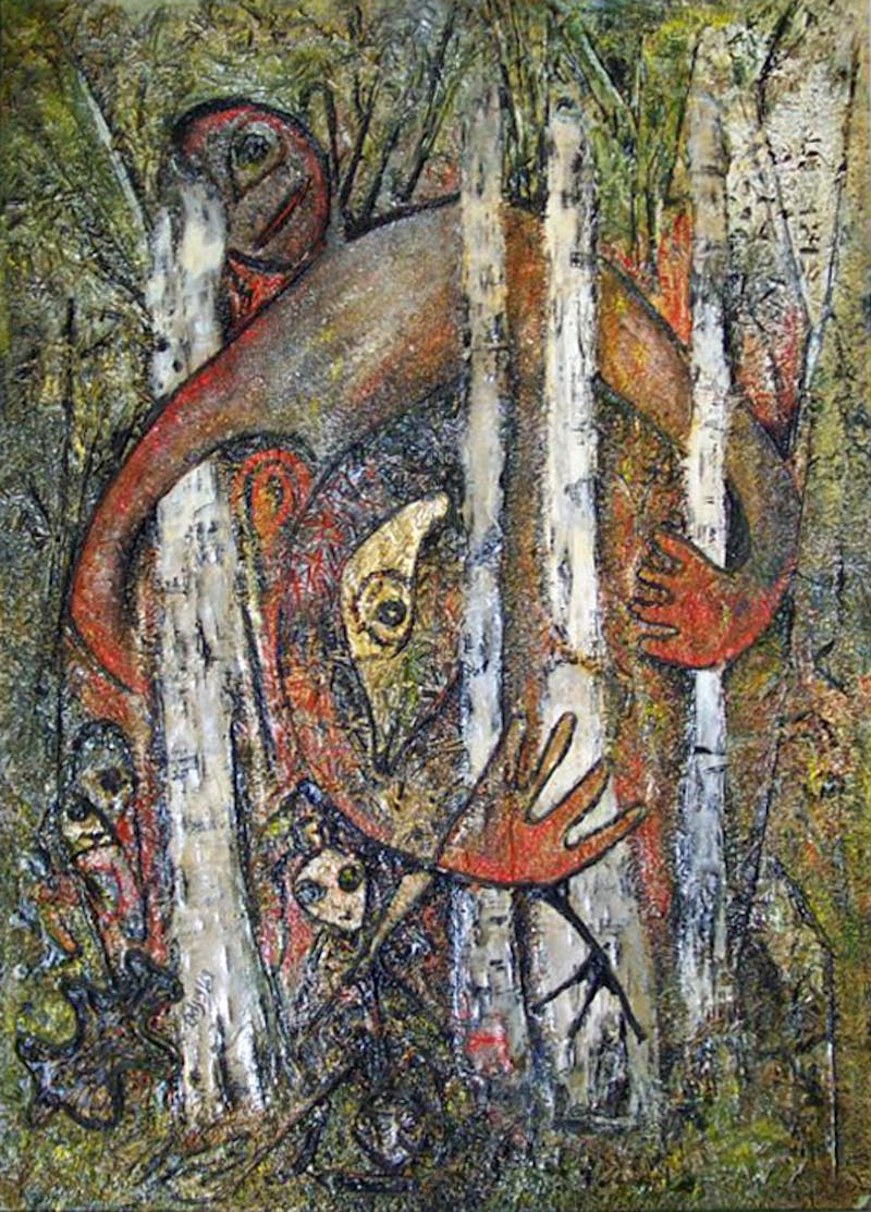 Untitled (Figure in Forest)