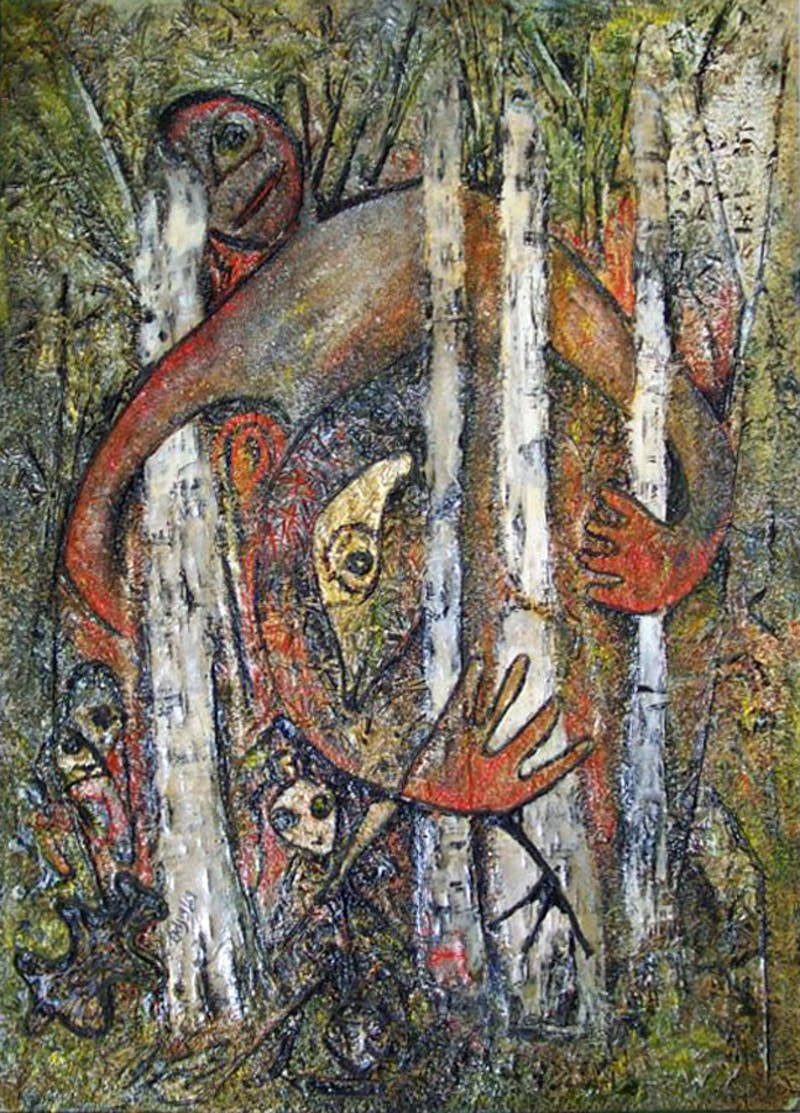 Untitled (Figure in Forest) Image 1