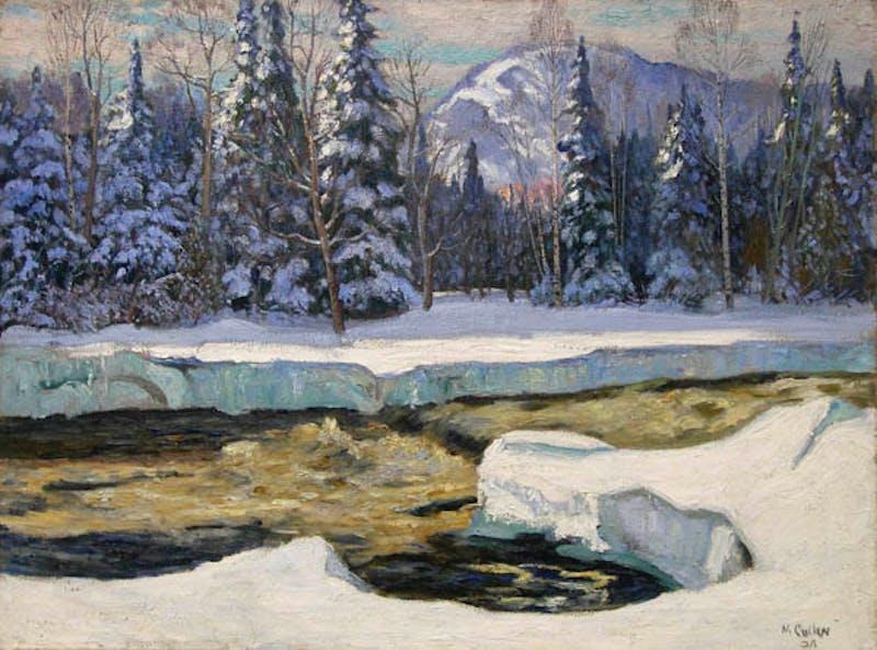 Winter in the Laurentians