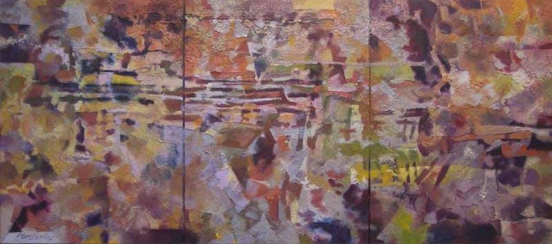 3 Panel Abstract Image 1