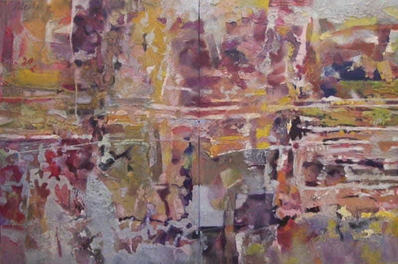 2 Panel Abstract Image 1