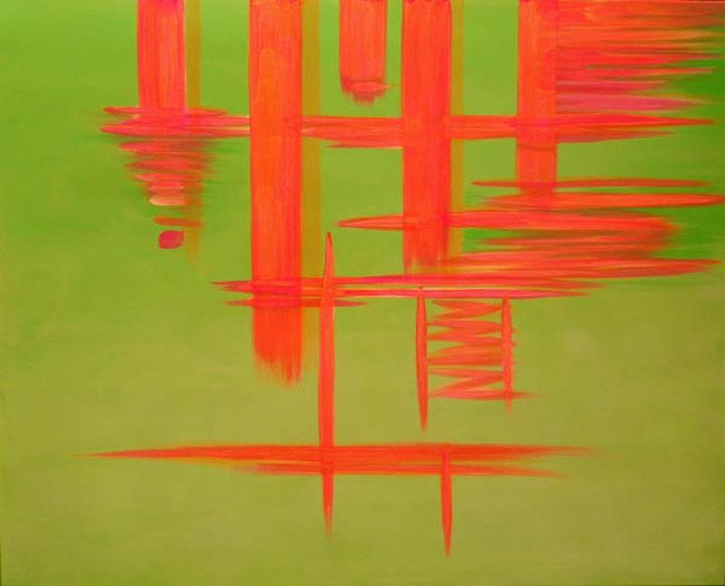 Orange Reflection Image 1