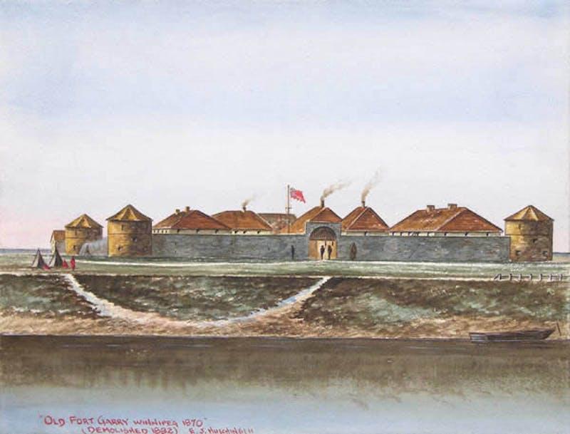 Old Fort Garry, Winnipeg 1870
