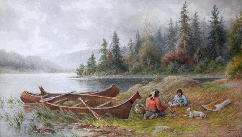 Indian Encampment Image 1