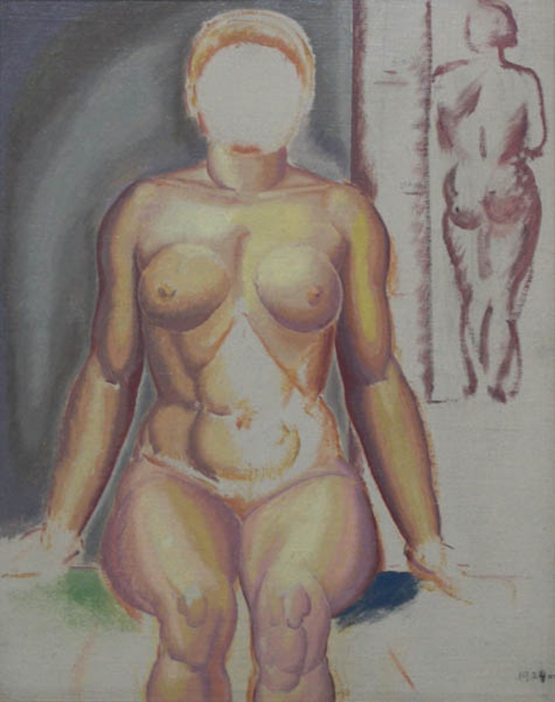 Nude Woman Image 1