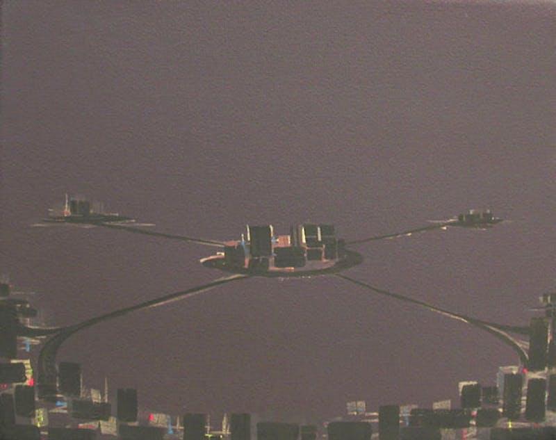 Mauve Night, (Satelite Cities) Image 1