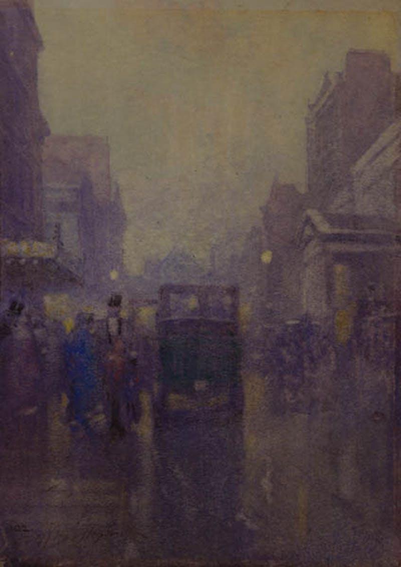 Rainy day, London Image 1