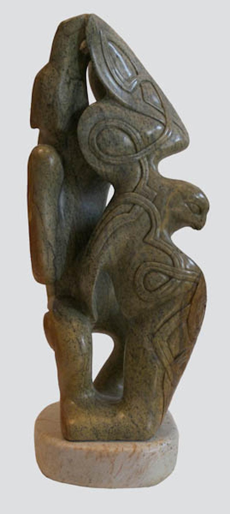 Nordic Bear and Falcon Image 1