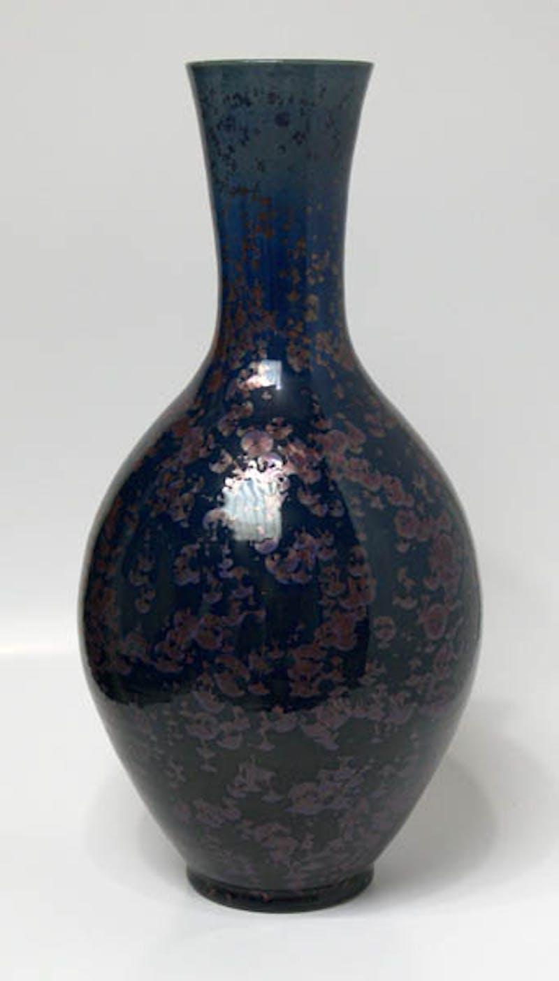Ruby Midnight Vase