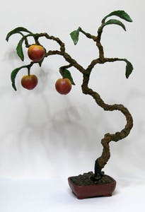 Spiral Peach Bonsai 3/7