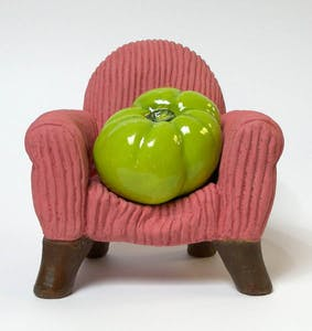 Green Armchair Tomato