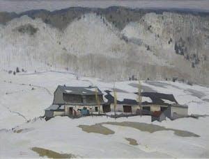 Late Winter in Baie St. Paul