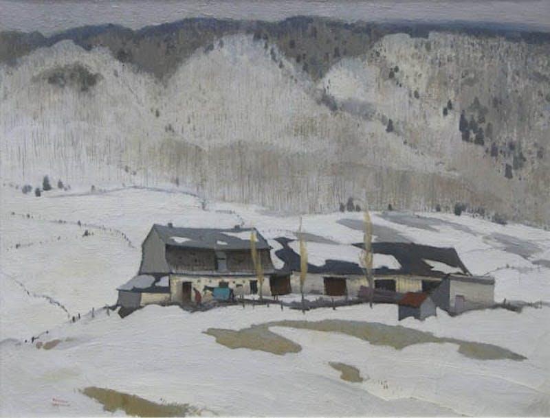 Late Winter in Baie St. Paul Image 1