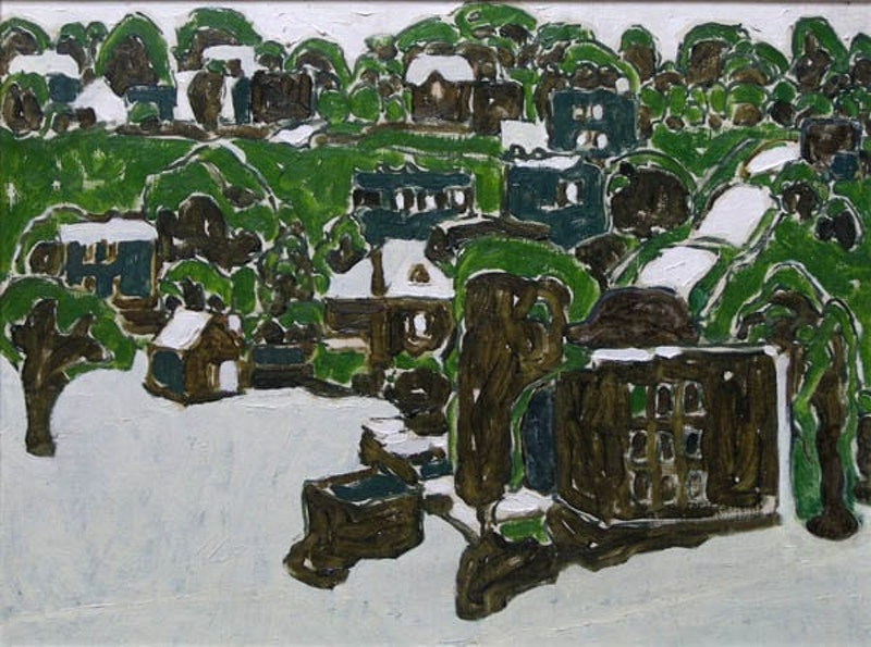 Houses and Trees (Round Forms II)