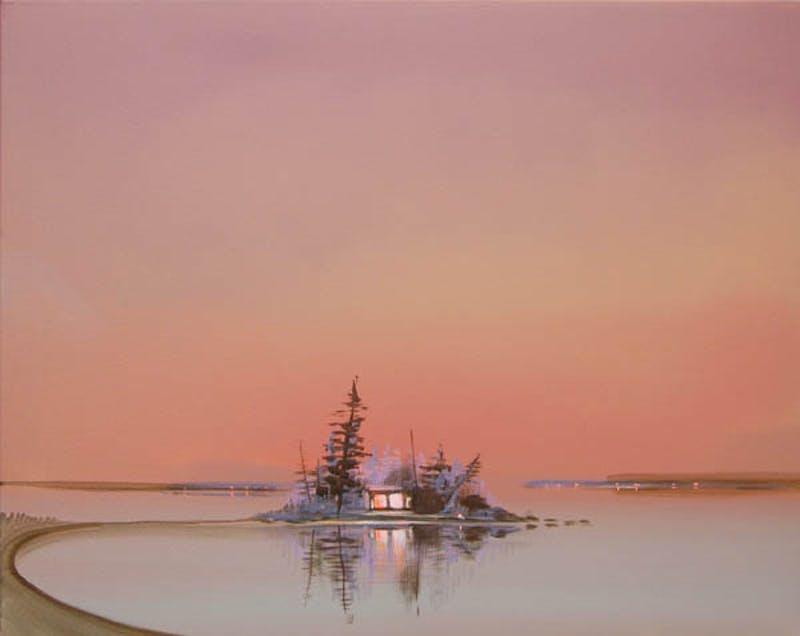 Deep Bay - Lit Cabin