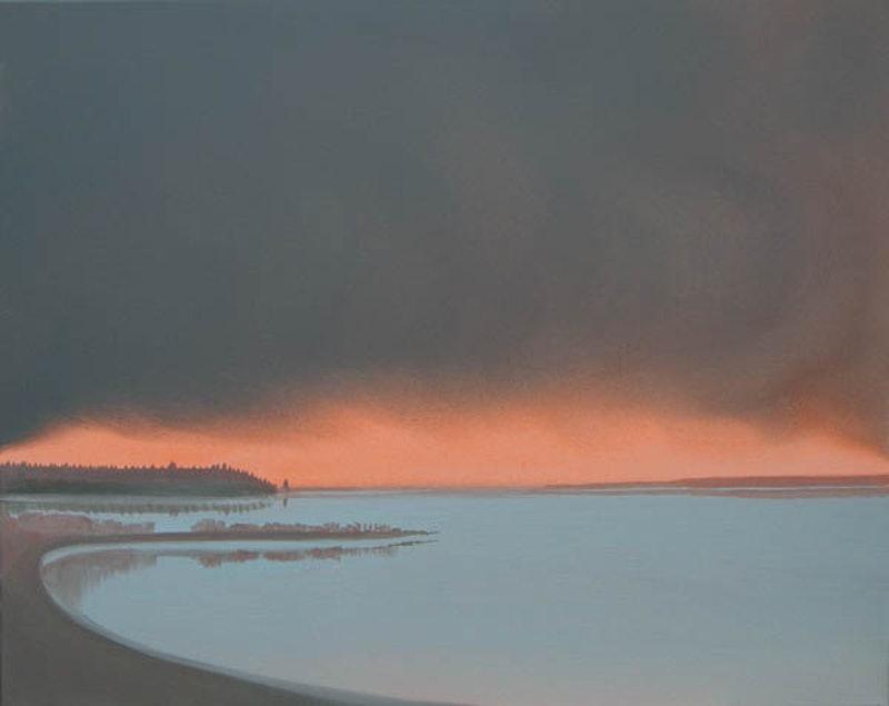 Deep Bay - Orange Sunset Image 1