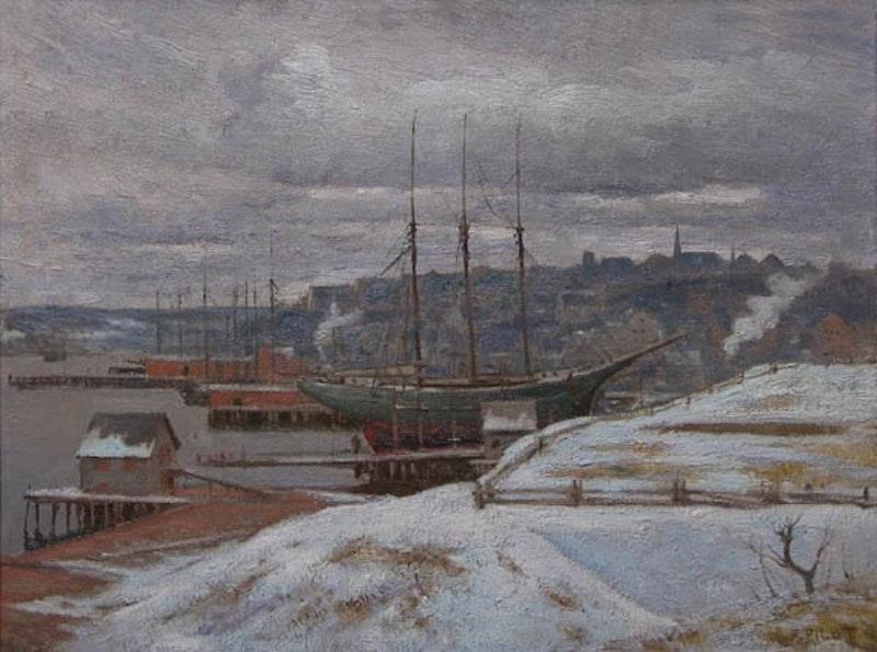 Grey Day in Lunenburg Image 1