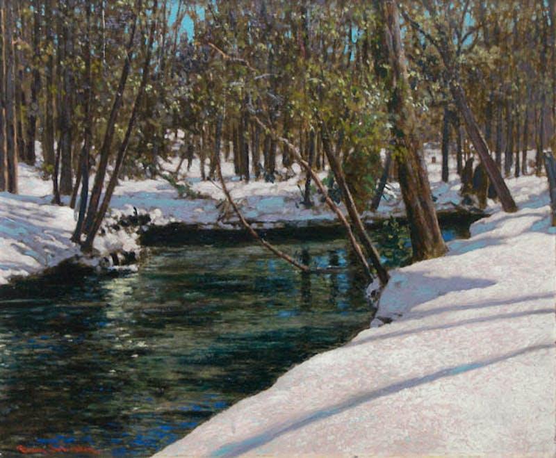 Winter Stream Image 1
