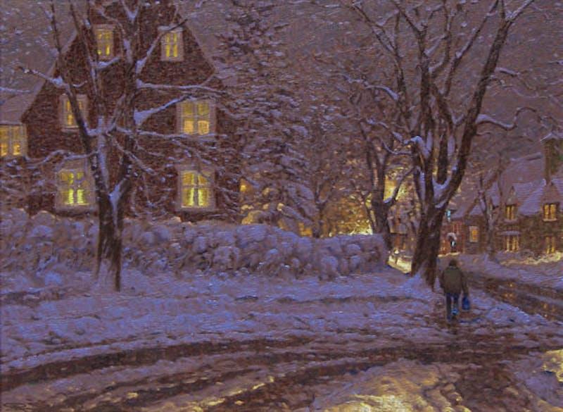Winter Night Image 1
