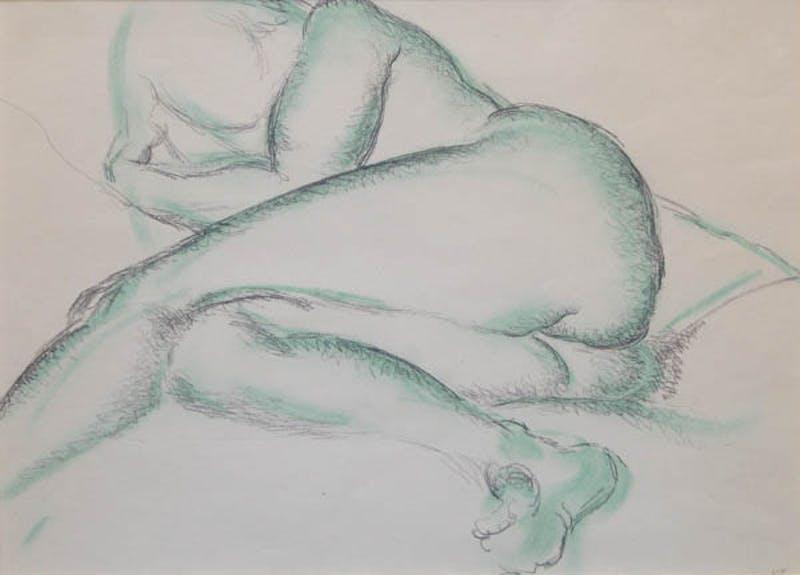 Reclining Nude Image 1