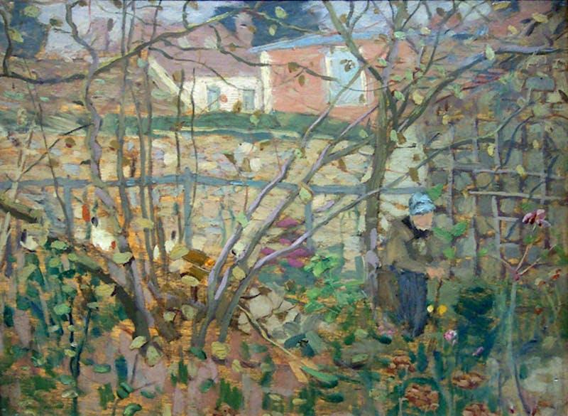 Garden Near Paris