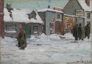 Canadian Winter Scene