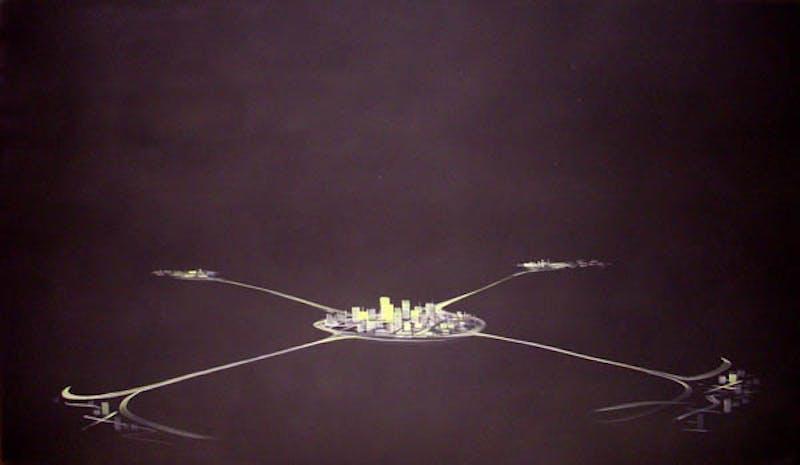 Satellite Cities - Black