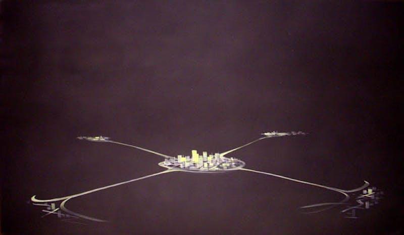 Satellite Cities - Black Image 1
