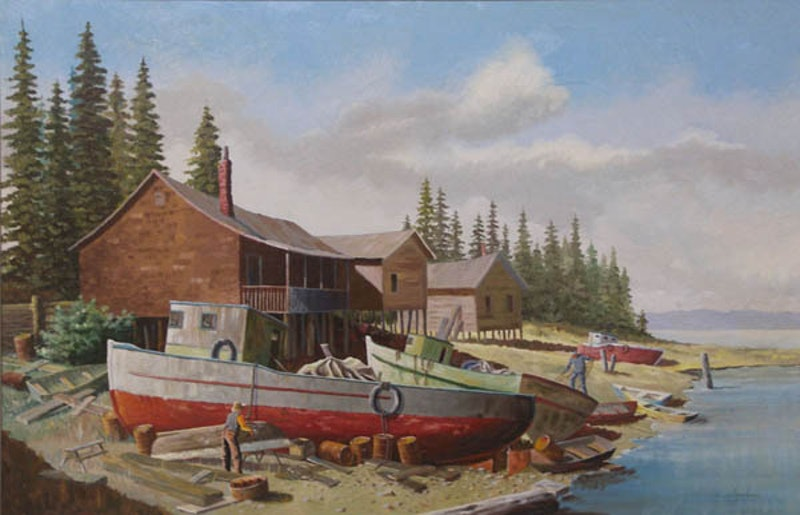 Untitled - Fishing Boats
