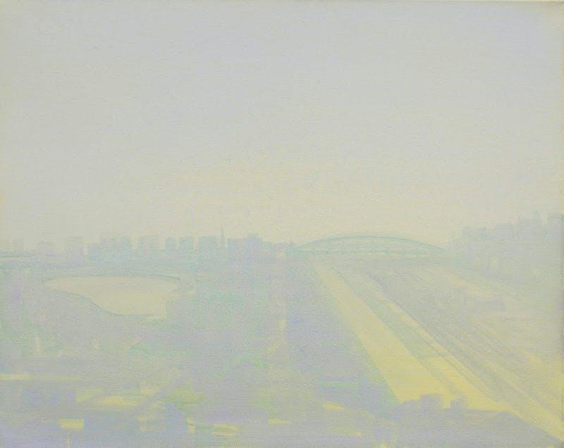 Sightlines - Green/Blue Bridge Image 1