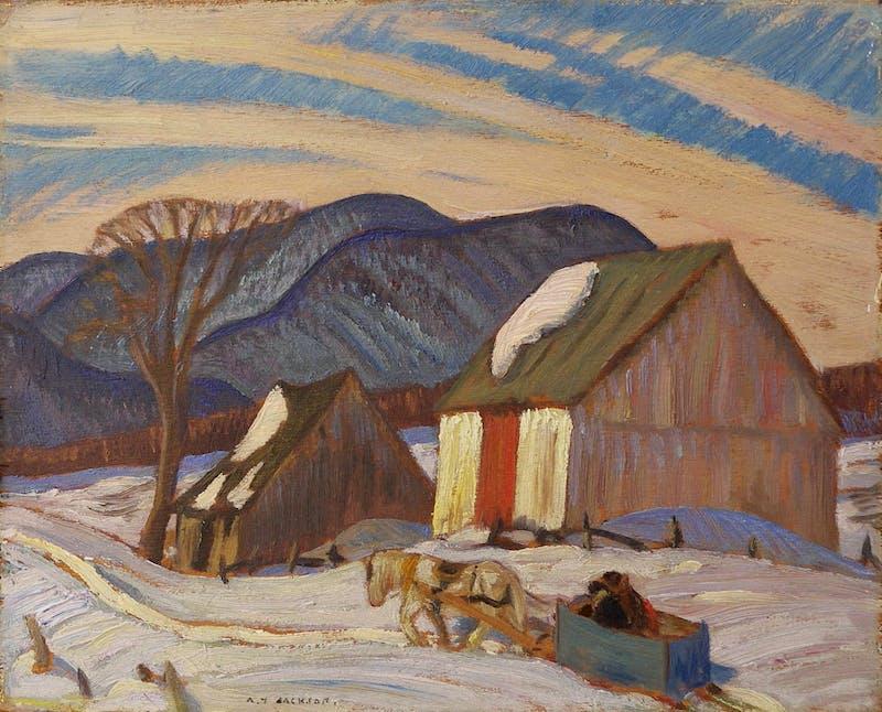 Winter, St. Hilaire Image 1