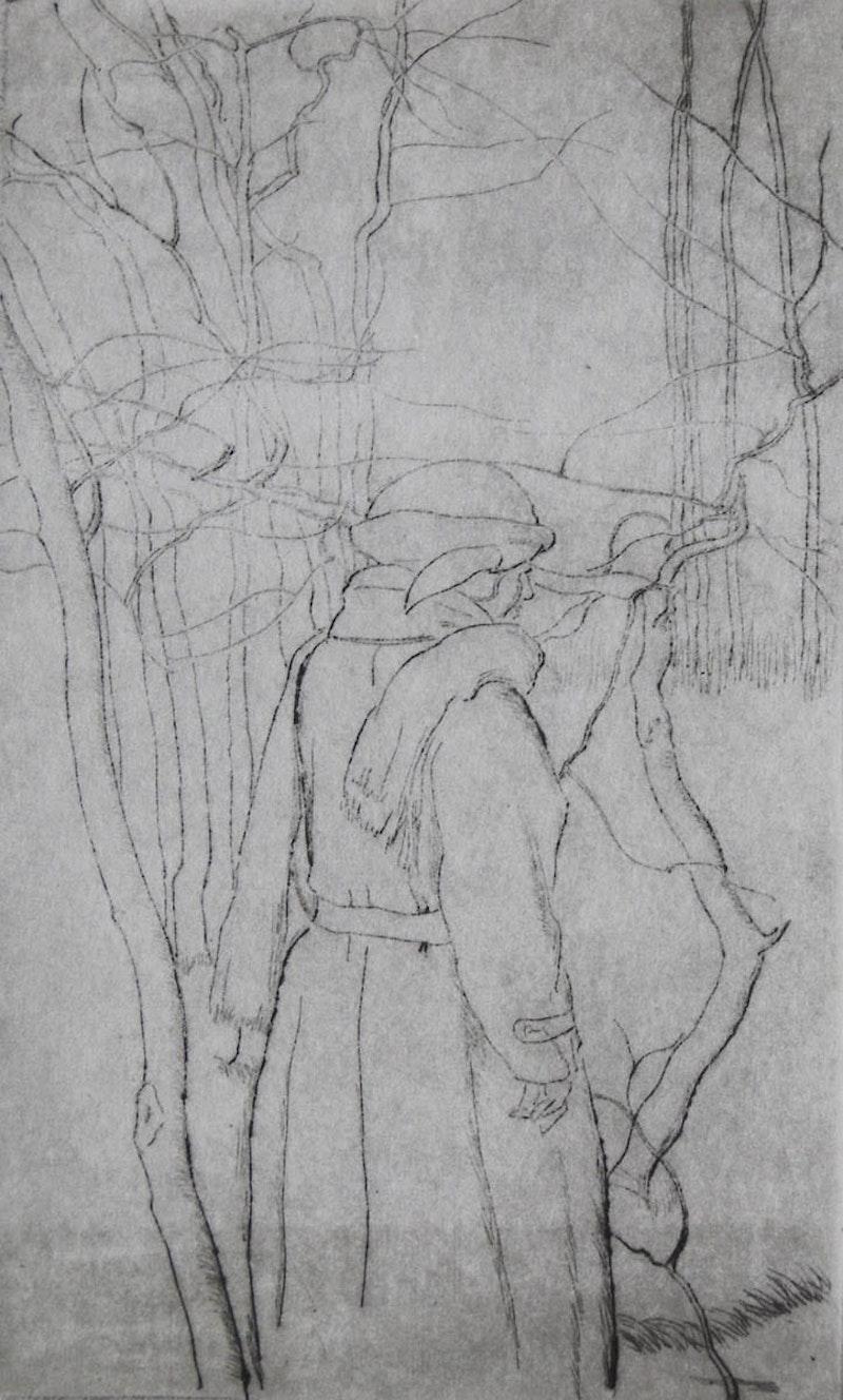 Standing Figure, Winter