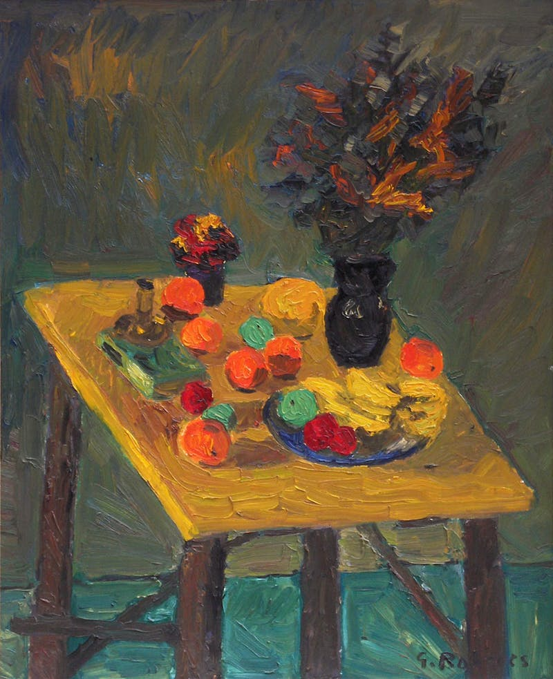 Still Life with Fruit and Flowers Image 1