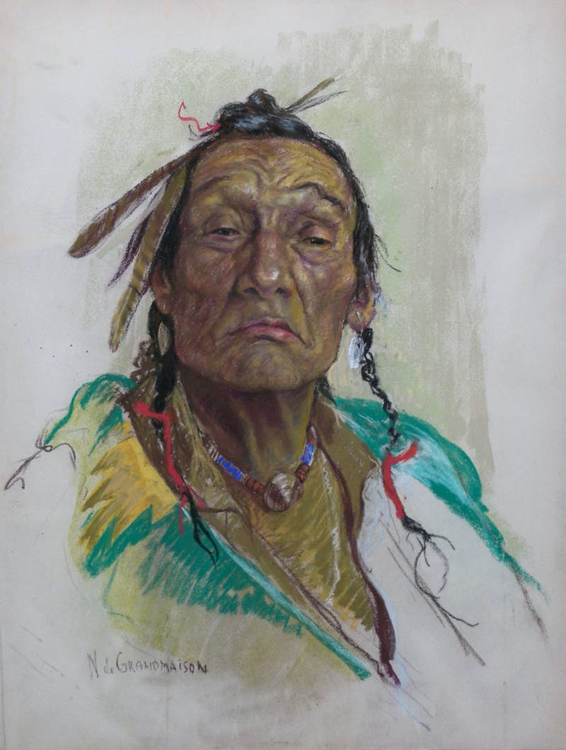 Tron - From the Blood Indian Reservation in Alberta Image 1