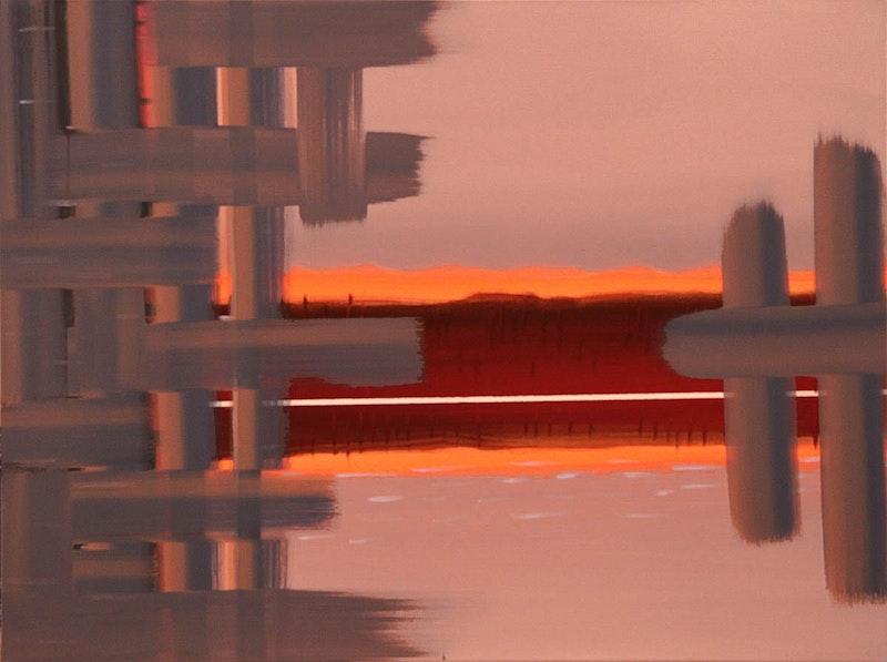 Interweave - Deep Bay Florescent Rouge Image 1