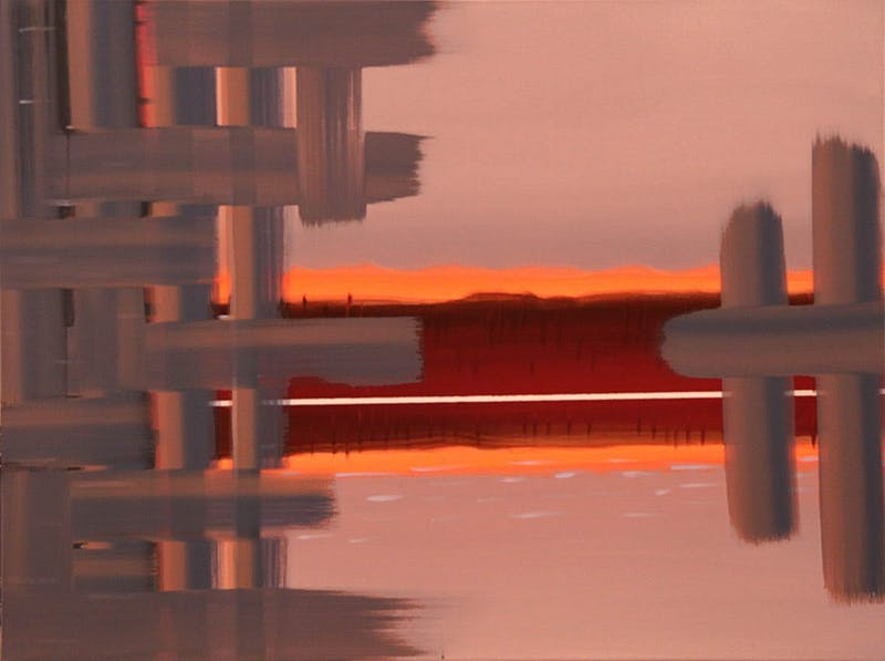 Interweave - Deep Bay Florescent Rouge
